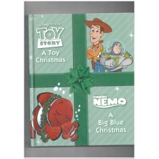Disney Pixar: Toy Story - A toy for Christmas .    Finding Nemo : A big blue christmas