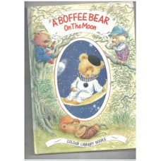 A boffee bear on the moon