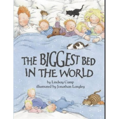 Kids Picture Book Biggest Bed In The World Used Book For