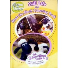 Shaun the Sheep Still Life and Meet the Flock Colouring book