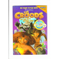 The Croods: Eep and Guy's Activity Book: Get Ready to Play with The Croods