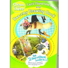 Shaun the Sheep - Can't Stand the Heat and Baa-rmy Drawing Book