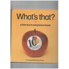 What's That? (Campbell Big Board Book)