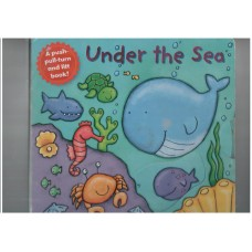 Under the Sea (A push-pull-turn and lift board book)