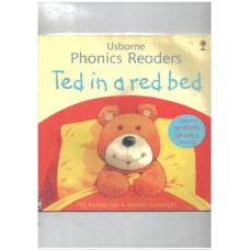 Usborne Phonics Readers : Ted In A Red Bed