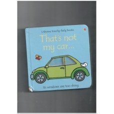 Thats not my car (usborne touch and feel book)