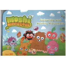 Alligator Books Moshi Monsters Placemat Activity Pad