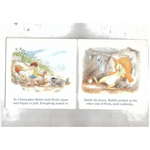 Kids Picture Book Pooh Gets Stuck Used Book For Best