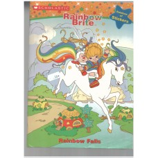 Rainbow Brite: Rainbow Falls (Coloring Book with Foil Stickers)