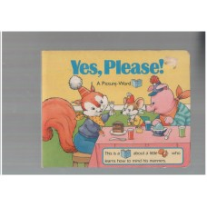 Yes Please - Picture word book