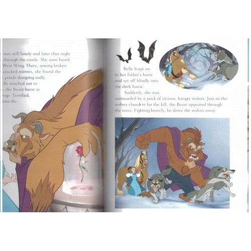 kids disney store disney andquotbeauty   beastandquot magical story disney book