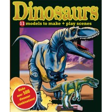 Dinosaurs, 11 Models to Make and Play Scenes