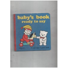 Ready to Say (Baby Books)