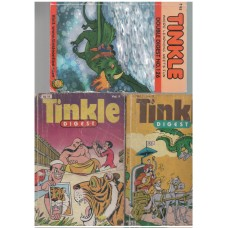 Pack of three Tinkle Digest